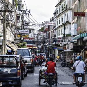 Streets of Wongwian Yai, Bangkok