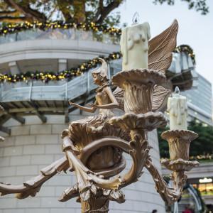 Christmas decorations at 1881 Heritage, Tsim Sha Tsui, in Kowloon.