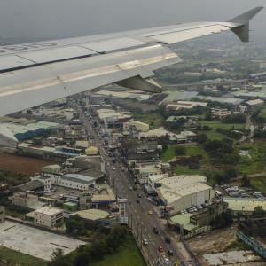 Flight into Taoyuan International Airport - Taiwan