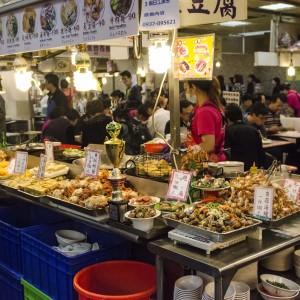 Food court, Shilin Night Market - Taipei, Taiwan