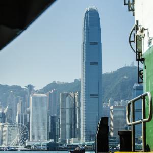The IFC or International Finance Center Tower