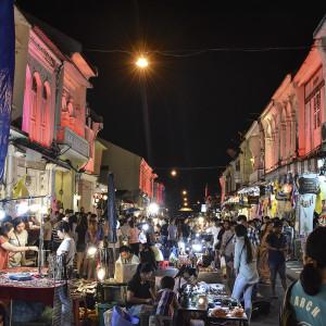 Old Town Sunday night street market - Phuket