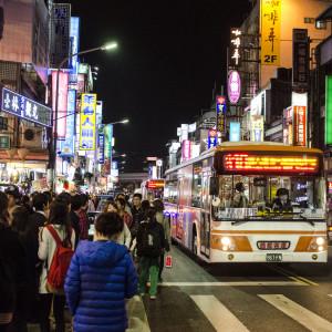 Shilin Night Market in Taipei, Taiwan