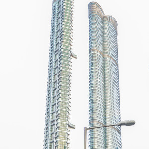 """The Highcliff and Summit Towers, aka """"The Chopsticks"""""""