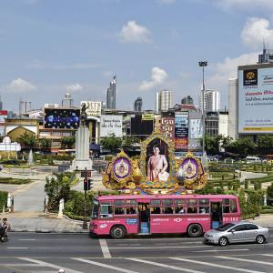 Wongwian Yai Roundabout - Bangkok