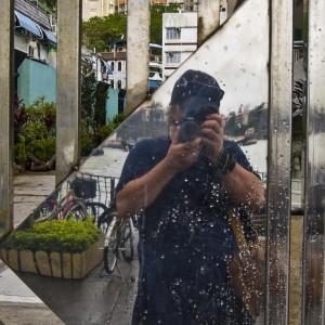 my reflection Cheung Chau